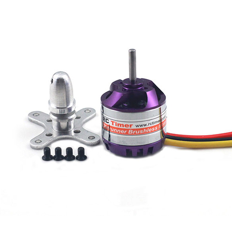 RCtimer 2830 <font><b>750KV</b></font> 850KV 1000KV 1300KV <font><b>Brushless</b></font> <font><b>Motor</b></font> For Multicopter in High Quality image