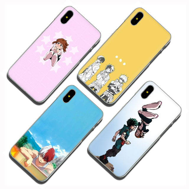 My hero academia Hard Phone Cover Case for iphone