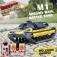 Technic серия 23005 пульт дистанционного управления Танк Набор строительных блоков совместимые части игрушек Legoing радиоуправляемая модель танка