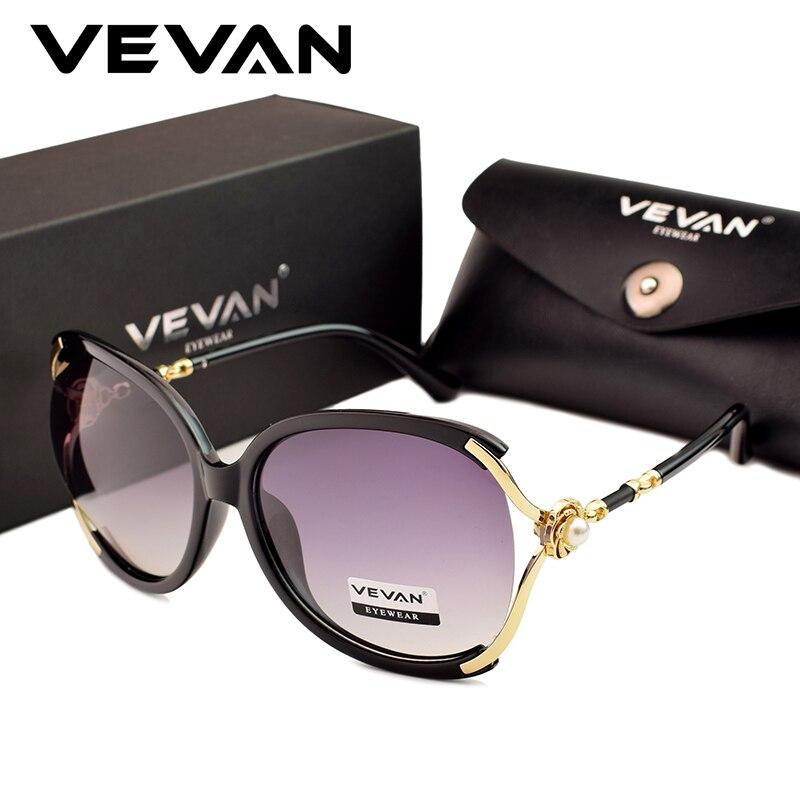 VEVAN Polarized Sunglasses Oculos Designer High-Quality Women Luxury UV400 For With Box