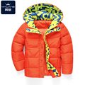 High Quality Winter Children Boys Girls down Thick Jackets for kids Coat Girls Outerwear Baby Jacket 3 Colors Solid with Floral