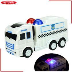 Масштаб 1:32 полицейские игрушки для мальчиков модель автомобиля детский грузовик Juguetes детские игрушки Cop универсальный автомобиль и музыка