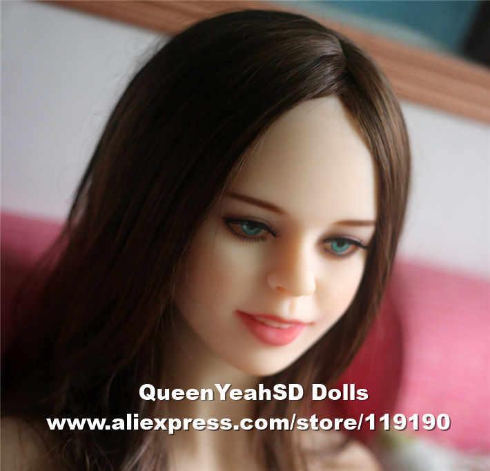 #134 boneka seks kepala, cinta boneka kepala untuk silikon dewasa, oral seks mainan untuk pria