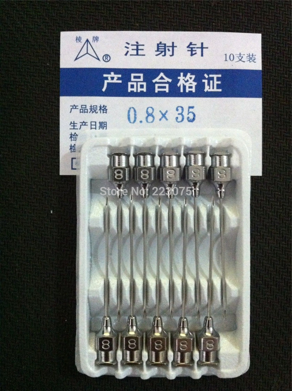Hot Sex Products Pill Case Suplementos Protein New 10pcs Stainless Steel Syringe Needle Dispensing Needles 0.8x35mm
