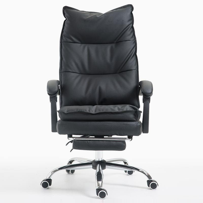 Cowhide Office Chair Multifunction Office Computer Chair Reclining Boss Swivel Chair Household Study Room Chaise Silla Gamer