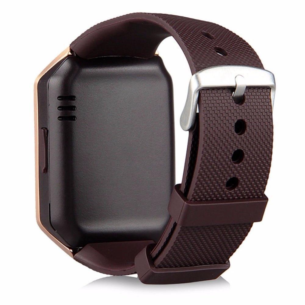 2018 TOP Bluetooth Inteligentne zegarki DZ09 Smartwatch dla Androida - Męskie zegarki - Zdjęcie 4