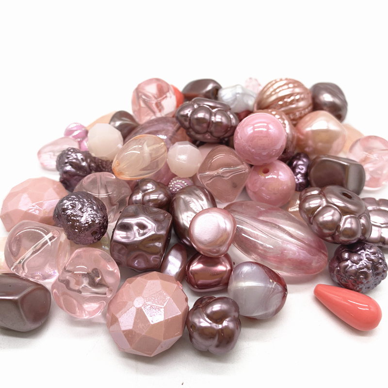 Wholesale New 20g Acrylic Beads Mixing Beads Style For DIY Handmade Bracelet Jewelry Making Accessories#06