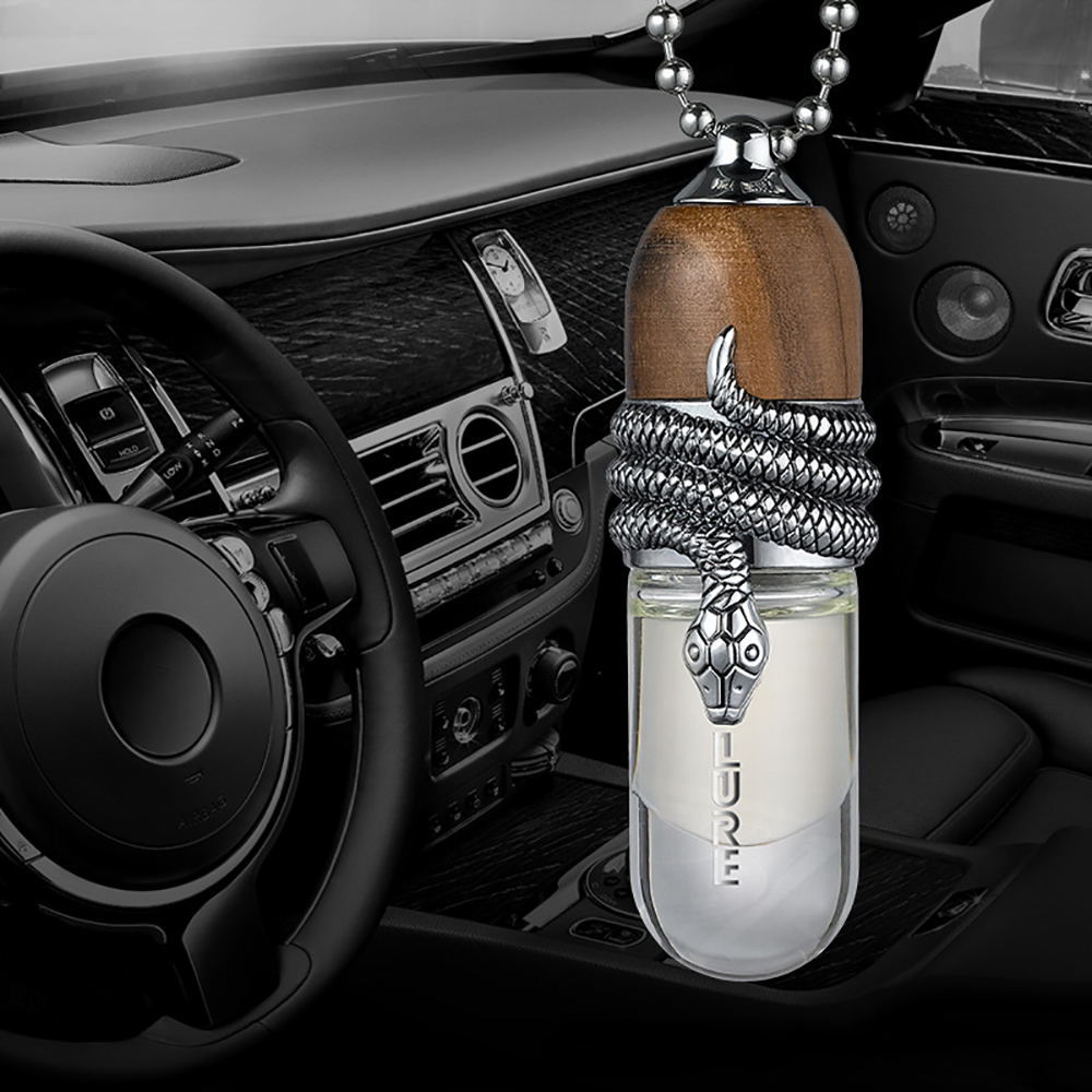 Car Pendant Snake Perfume Diffuser Air Freshener Automotive Interior Decoration Fragrance Hanging Suspension Ornament Trim Gifts цены