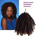 """Spring Curl Crochet Braids 16"""" 30 Through the roots Spring Braid Ombre Braiding Hair Havana Mambo Twist Hair Extension Free Ship"""