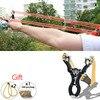 Hot Sale Protable Powerfull Outdoor Self Defense Allow Shot Ergonomic Grip Slingshot Catapult Powerful Hunting Camping