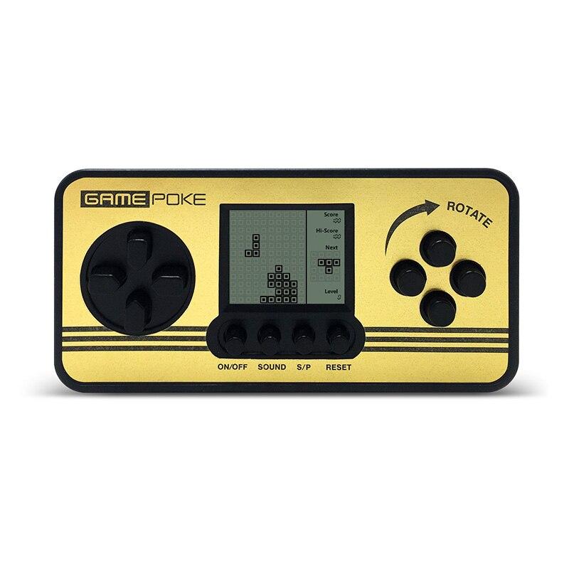 Электронные игры детей классической игры игроки Портативный дети тетрис игровой консоли  ...