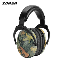 ZOHAN Passive Earmuffs NRR26DB Protective Ear Plugs For Noise Tactical Hunting Earmuff Anti-noise Ear Protection For kid