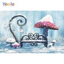 Yeele Photocall Dream World Mushroom Child Room Decor Photography Backdrop Personalized Photographic Background For Photo Studio