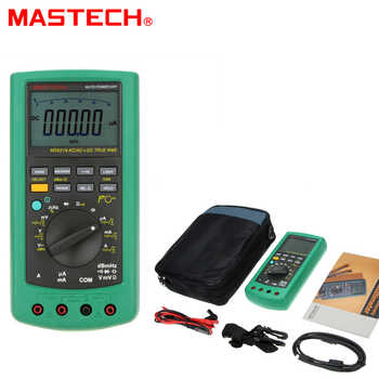 MASTECH MS8218 High Accuracy 50000 Counts True RMS DMM Digital Multimeter Sound Level DB Meter w/ RS232 Interface Multimetro - DISCOUNT ITEM  5% OFF All Category