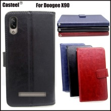 Casteel Classic Flight Series high quality PU skin leather case For Doogee X90 Case Cover Shield