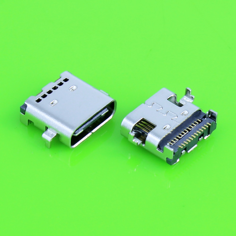 New Type C Connector 24 Pin USB-C USB 3.1 Type C Mother Socket Connector SMT Type