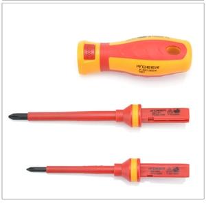 Image 5 - New 13 Pcs VDE Insulated Screwdriver Set CR V High Voltage 1000V Magnetic Phillips Slotted Torx Screwdriver Durable Hand Tools
