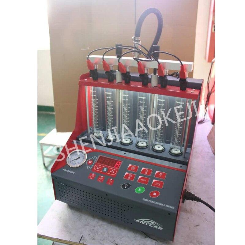 Injecteurs de carburant automobile et machine de nettoyage buse électrique instrument d'essai buse de pulvérisation à ultrasons équipement de réparation 200 W - 2