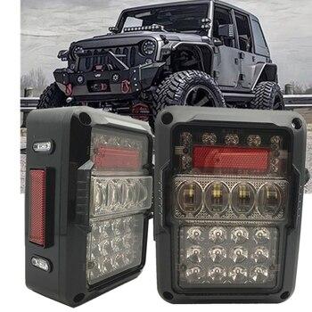 USA/ EU Led Tail Light Turn Signal Lamps Assembly for 07-18 Jeep Wrangler JK JKU Unlimited Rubicon Sahara Sports Taillight