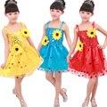 Девушки Фея ТУТУ Платья Красный Белый детский Балет танцевальная одежда Костюмы Желтый дети Партия танцы платье Принцессы