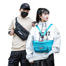 New Waist Bag Men Women pack High quality Fashion Unisex Belt Fanny Pack Casual Street Chest Pouch