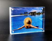 8×6 inch acrylic picture photo frame for home decoration