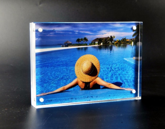 8x6 Inch Acrylic Picture Photo Frame For Home Decoration