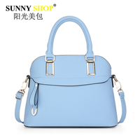 Famous Design Women Shell Bags Pu Handbags High Quality Shoulder Messenger Bags Single Zipper Clucth Solid
