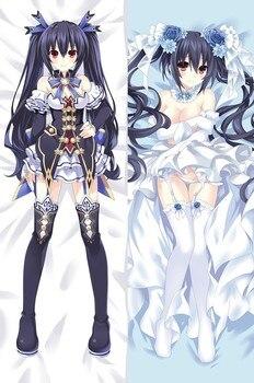 Japanese Anime Hyperdimension Neptunia Dakimakura Pillow Cover Case Hugging Body Bedding Decorative Throw pillowcases