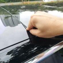 Для Tesla модель 3 лобовое стекло автомобиля крыша защита от ветра шумоподавляющий комплект уплотнений