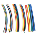 70 pcs Flame Retardant Durable 7 Color Assorted Colors Ratio 2:1 Polyolefin Heat Shrink Tubing Tube Kits