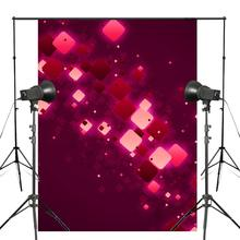 5x7ft Exquisite Red and White Rectangle Photography Backdrops Dreamy Purple Backdrop Kids Photo Studio