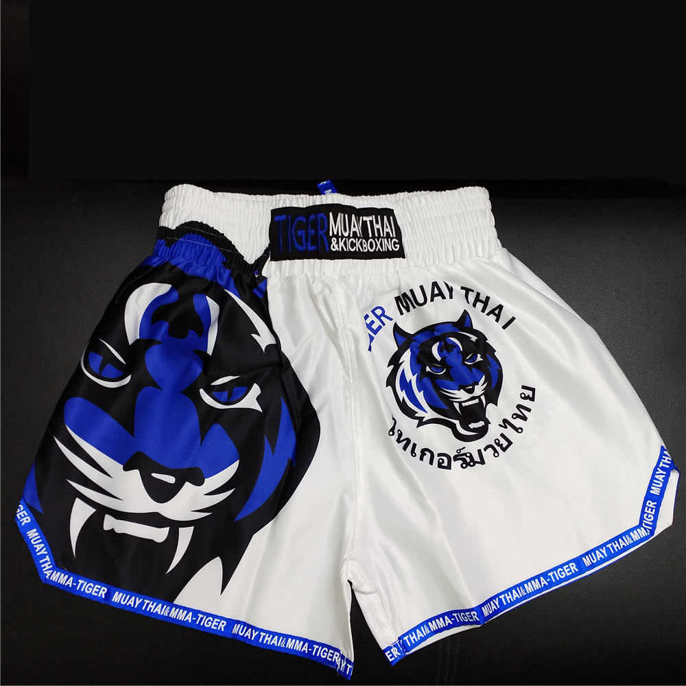 Mmatrunks Pria Tiger Cetak Tinju Celana Pendek Mma Celana Muay Thai Pendek Tendangan Boxeo Thai Bergulat Latihan Olahraga Gym Celana Pendek 2019