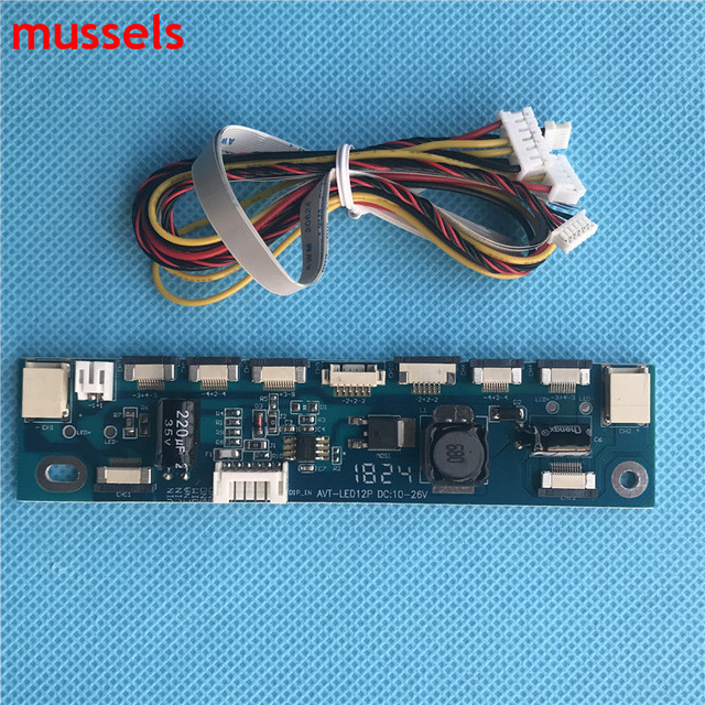 Multifunction Inverter For Backlight LED Constant Current Board Driver Board 12 connecters LED Strip Tester 2 pieces / lot