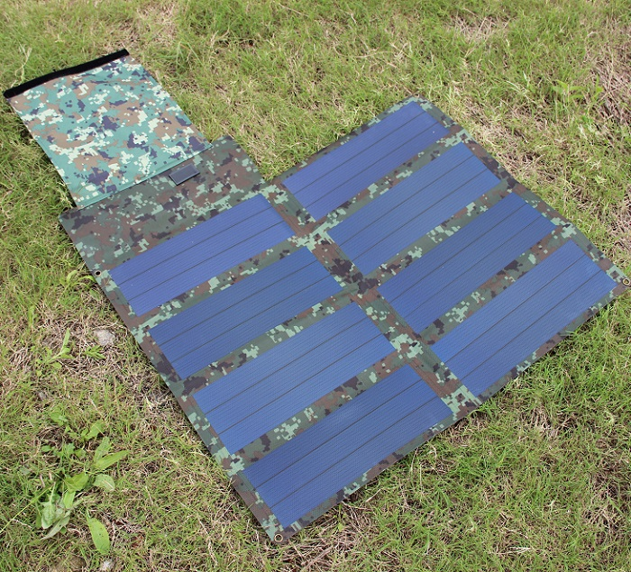 24W 18V Folded Flexible Solar Panel Charger  For12V Battery Charger Amorphous Silicon Waterproof High Quality Free shipping мопед