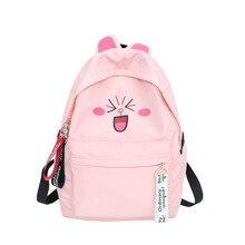 Cute Cartoon Cat Ears Backpacks Schoolbag for Teenage Girls Women Back Pack Nylon School Backpack Famale packbag ladies Bagpack все цены
