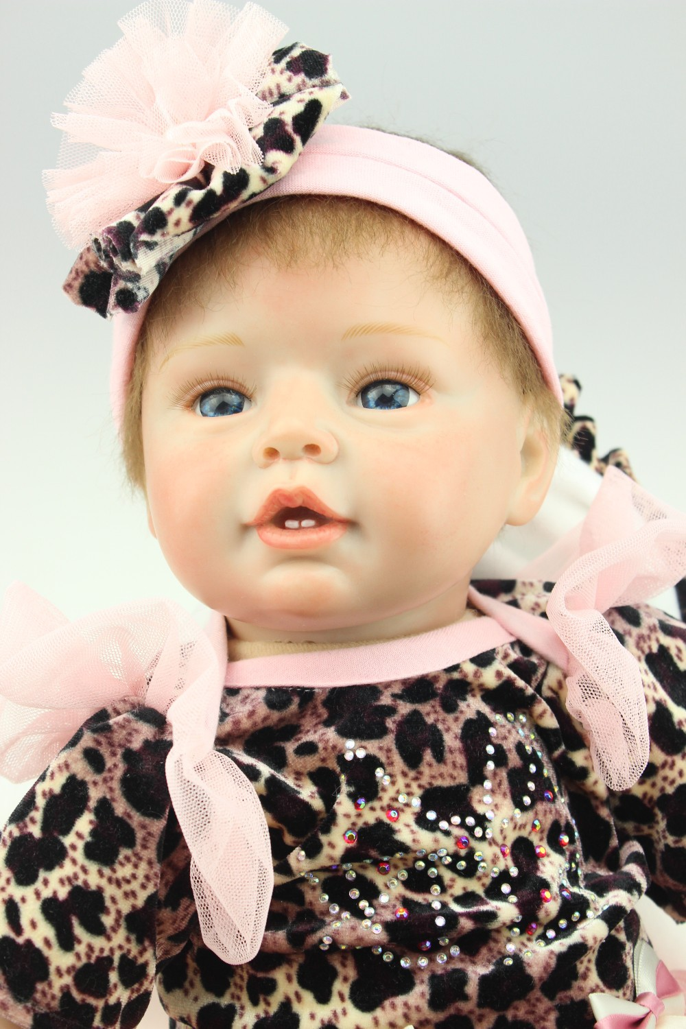 NPKCOLLECTION reborn doll with soft real gentle  touch wholesale realistic simulation reborn baby doll soft silicone vinyl new fashion design reborn toddler doll rooted hair soft silicone vinyl real gentle touch 28inches fashion gift for birthday