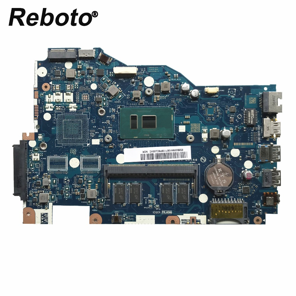 Reboto For Lenovo Ideapad 110 15ISK Laptop Motherboard W i3 6100U 2 3GHz CPU 4GB RAM