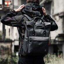 Tangcool İşlevli USB şarj Erkekler 15 inç Laptop Sırt Çantaları Genç Mochila Eğlence Seyahat Moda Erkek sırt çantası