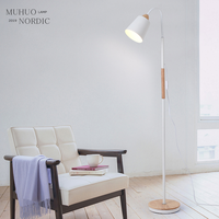 Post modern Design Arne Jacobsen AJ Floor Lamp Black Metal Stand Light for Living Room Bedroom E 27 LED Bulb bedroom decor