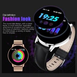 Image 2 - Rundoing Q8 高度な 1.3 インチのカラー画面フィットネストラッカー smart watch 心拍数モニタースマートウォッチ男性ファッション