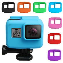 Anti-scratch Silicon Gel Camera Protective Case Cover Shell Housing For Gopro Hero 5 6 7 Action Go Pro Accessories