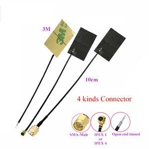 Image 3 - 433Mhz 6dbi LoRa FPC anten Gömülü FPC Antenler için IOT lorawan IPEX 10cm kablo yüksek kazanç 20 adet/grup
