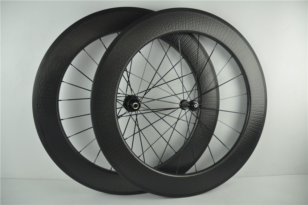 Z808 dimple Surface Carbon Bike Cycling Wheelset 808,404,505 45mm,58mm Rims 700C Bicycle Clincher Wheels Powerway hub U shape 700c road bike dimple carbon rims dimple carbon wheels 58mm depth 25mm width carbon wheelset 20 24h wheelset parts bicycle wheel