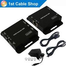 Hdmaters HDMI удлинитель ИК усилитель cat5e/6 кабель до 60 м(HDMI передатчик+ приемники