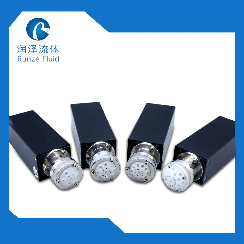 High Stability Chemical Resistance Multiport Selector Valve for Water Analyzer