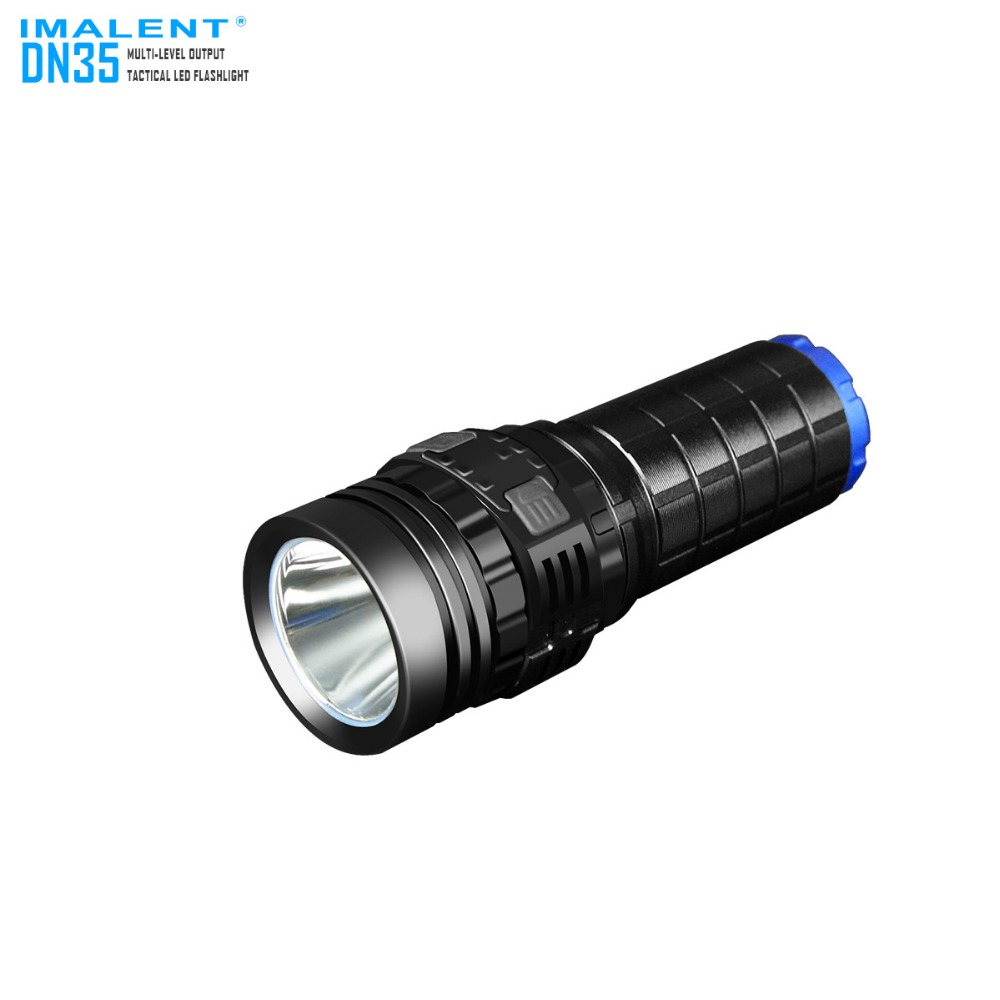 IMALENT DN35 USB Rechargeable torch CREE XHP70 2200 Lumens LED lanterns Waterproof IPX-8 Flashlight by 26650 Battery ipx 8 waterproof tactical torch imalent dn35 usb rechargeable cree xhp70 2200 lumens led flashlight self defense 26650 battery
