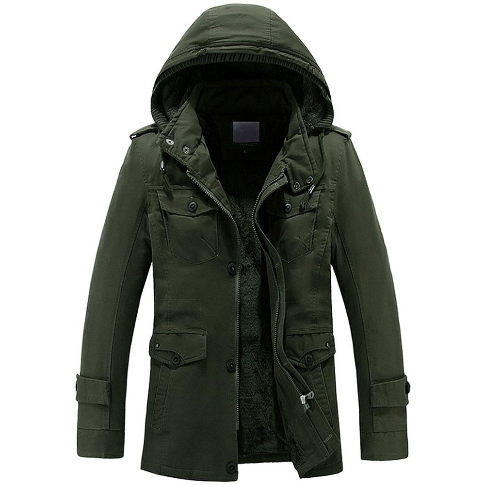 Mens Winter Jacket Fashion Windbreaker Top Quality Military Waterproof Men Jackets Coat Brand Clothing Army Casaco Masculino