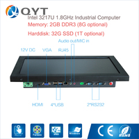 Cheap15 6 Inch Mini Pc Industrial Computer Touch Screen Panel Pc Tablet Pc With Intel I3