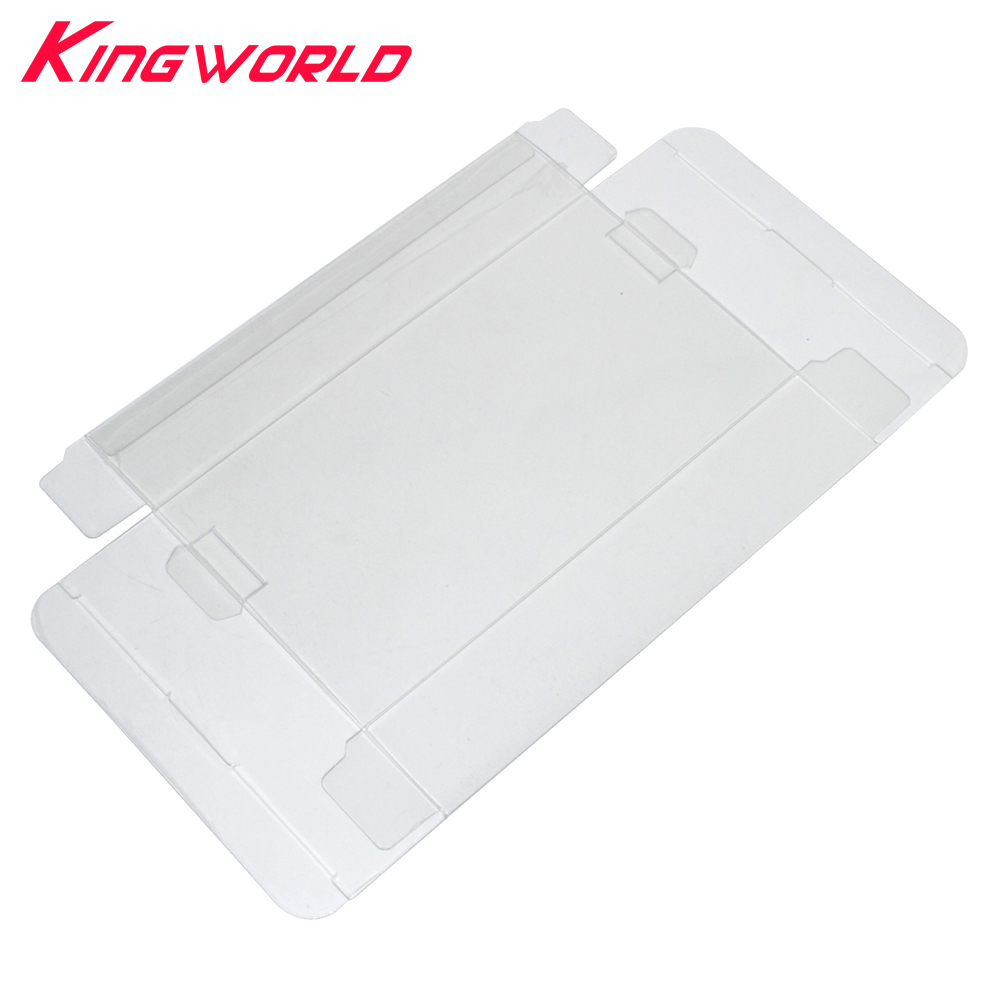 200pcs Clear Transparent Cartridge Protector for Nintendo N64 Game Card Plastic PET Case Boxes